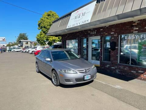2008 Mazda MAZDA6 for sale at M&M Auto Sales in Portland OR