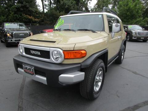2013 Toyota FJ Cruiser for sale at LULAY'S CAR CONNECTION in Salem OR