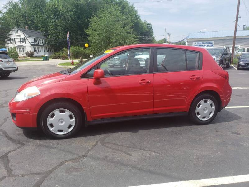 2009 Nissan Versa for sale at Healey Auto in Rochester NH