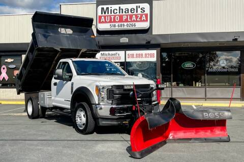 2017 Ford F-550 Super Duty for sale at Michael's Auto Plaza Latham in Latham NY