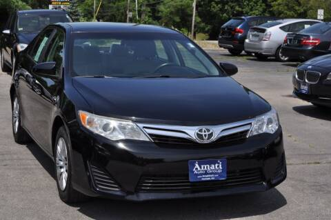 2012 Toyota Camry for sale at Amati Auto Group in Hooksett NH