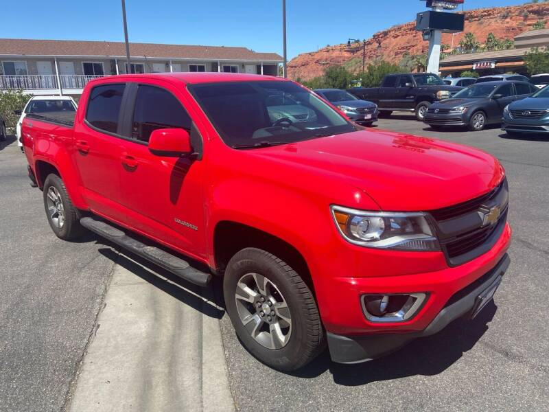 2015 Chevrolet Colorado for sale at Boulevard Motors in Saint George UT
