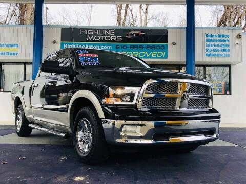 2010 Dodge Ram Pickup 1500 for sale at Highline Motors in Aston PA
