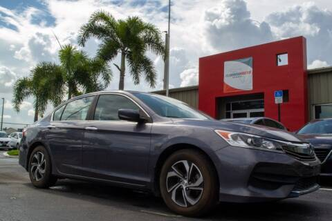 2017 Honda Accord for sale at Florida Auto Reserve in Medley FL
