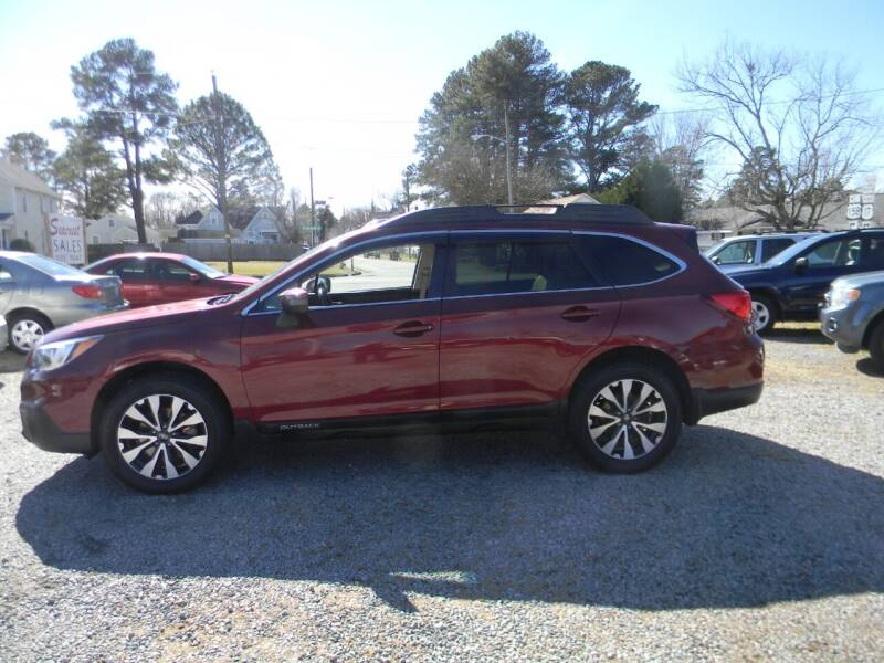 2015 Subaru Outback for sale at SeaCrest Sales, LLC in Elizabeth City NC