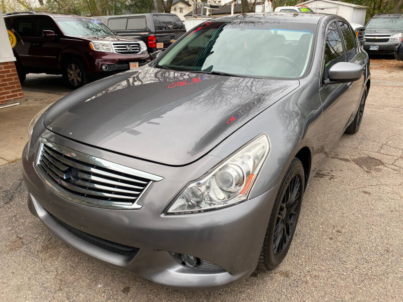 2012 Infiniti G37 Sedan for sale at New Wheels in Glendale Heights IL