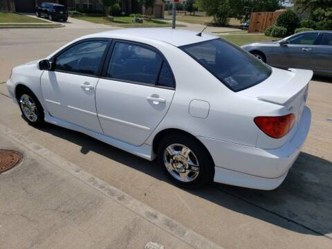 2004 Toyota Corolla for sale at El Jasho Motors in Grand Prairie TX
