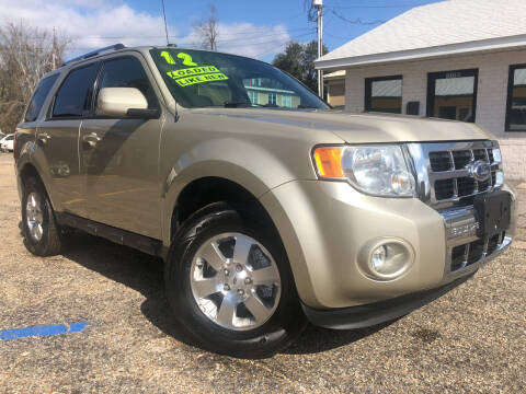 2012 Ford Escape for sale at The Auto Connect LLC in Ocean Springs MS