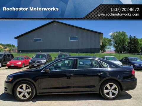 2012 Volkswagen Passat for sale at Rochester Motorworks in Rochester MN
