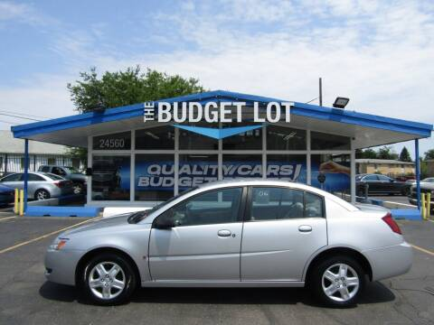 2006 Saturn Ion for sale at THE BUDGET LOT in Detroit MI