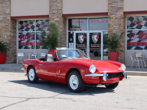 1970 Triumph Spitfire for sale at Iconic Motors of Oklahoma City, LLC in Oklahoma City OK