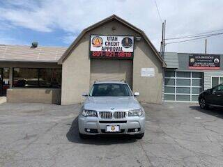 2008 BMW X3 for sale at Utah Credit Approval Auto Sales in Murray UT