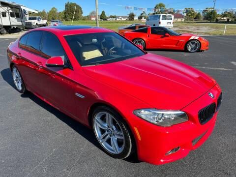 2014 BMW 5 Series for sale at Hillside Motors in Jamestown KY