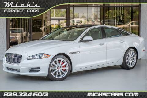 2014 Jaguar XJ for sale at Mich's Foreign Cars in Hickory NC