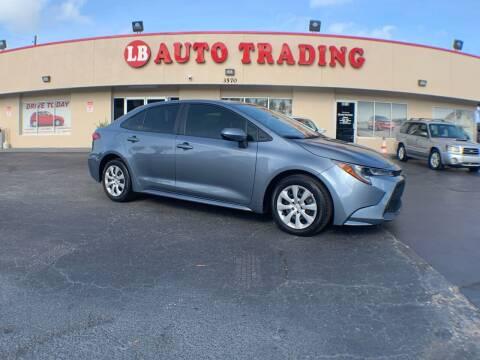 2020 Toyota Corolla for sale at LB Auto Trading in Orlando FL