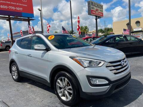 2016 Hyundai Santa Fe Sport for sale at MACHADO AUTO SALES in Miami FL