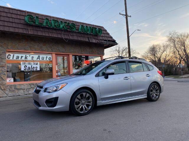 2014 Subaru Impreza for sale at Clarks Auto Sales in Salt Lake City UT