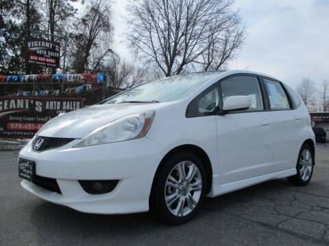 2009 Honda Fit for sale at Vigeants Auto Sales Inc in Lowell MA