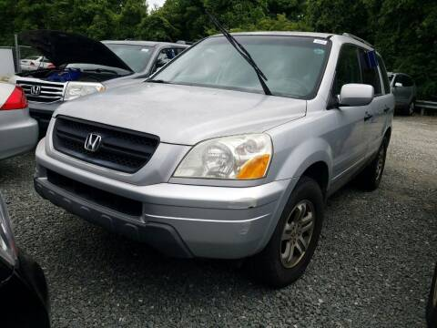 2003 Honda Pilot for sale at J & R Auto Group in Durham NC