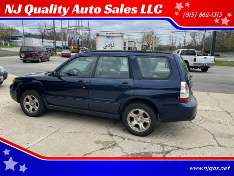 2006 Subaru Forester for sale at NJ Quality Auto Sales LLC in Richmond IL