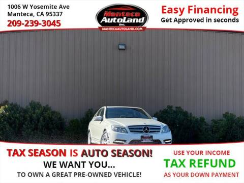 2011 Mercedes-Benz C-Class for sale at Manteca Auto Land in Manteca CA