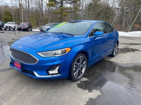 2019 Ford Fusion for sale at North Berwick Auto Center in Berwick ME