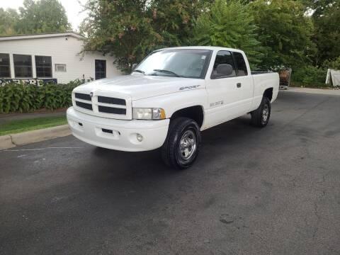 1999 Dodge Ram Pickup 1500 for sale at TR MOTORS in Gastonia NC