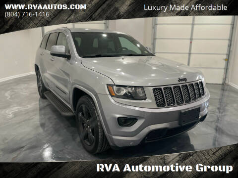 2015 Jeep Grand Cherokee for sale at RVA Automotive Group in North Chesterfield VA