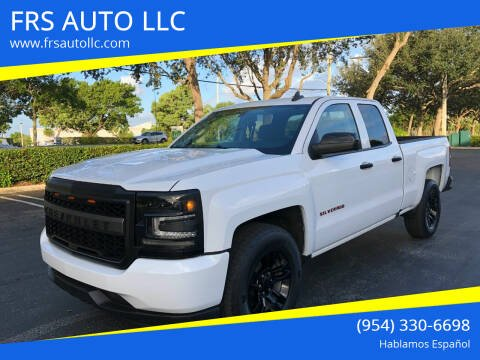 2018 Chevrolet Silverado 1500 for sale at FRS AUTO LLC in West Palm Beach FL