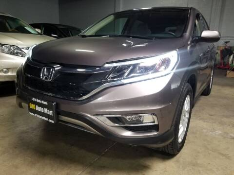 2016 Honda CR-V for sale at 916 Auto Mart ONLY $399 DOWN!!!* in Sacramento CA