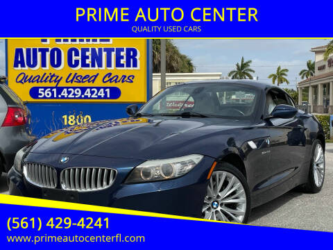 2009 BMW Z4 for sale at PRIME AUTO CENTER in Palm Springs FL