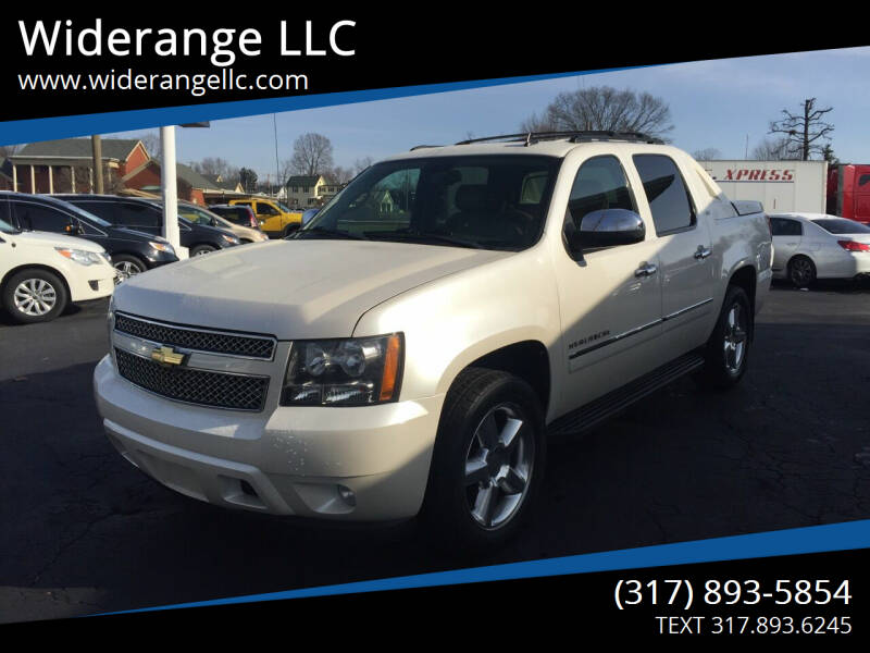 2011 Chevrolet Avalanche for sale at Widerange LLC in Greenwood IN