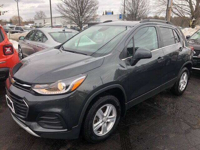 2017 Chevrolet Trax for sale at BATTENKILL MOTORS in Greenwich NY