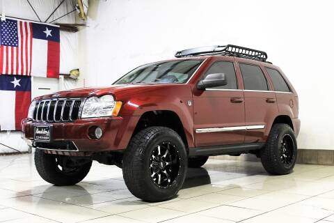 2007 Jeep Grand Cherokee for sale at ROADSTERS AUTO in Houston TX