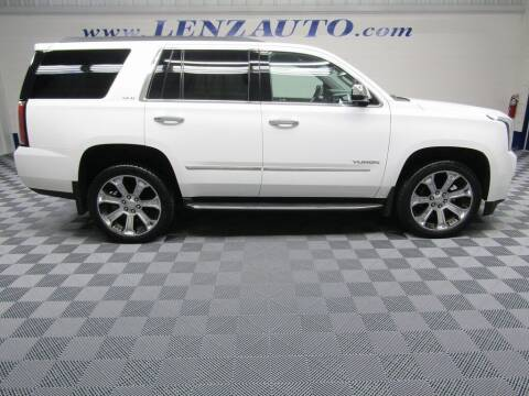 2018 GMC Yukon for sale at LENZ TRUCK CENTER in Fond Du Lac WI