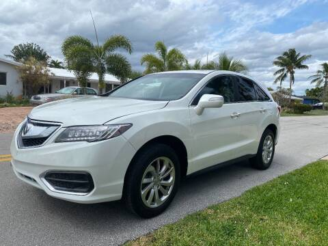 2018 Acura RDX for sale at Car Girl 101 in Oakland Park FL