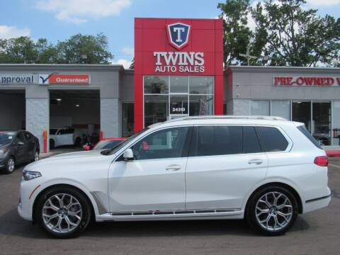 2020 BMW X7 for sale at Twins Auto Sales Inc in Detroit MI