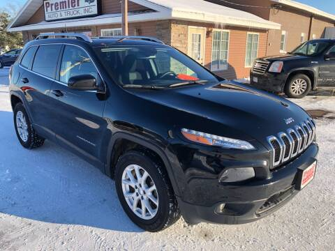 2018 Jeep Cherokee for sale at Premier Auto & Truck in Chippewa Falls WI