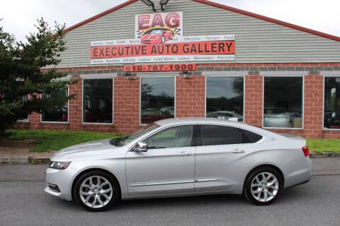 2016 Chevrolet Impala for sale at EXECUTIVE AUTO GALLERY INC in Walnutport PA