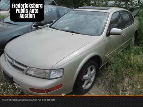 1999 Nissan Maxima for sale at FPAA in Fredericksburg VA