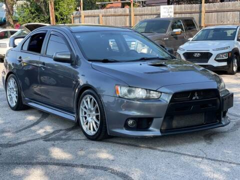 2010 Mitsubishi Lancer Evolution for sale at AWESOME CARS LLC in Austin TX