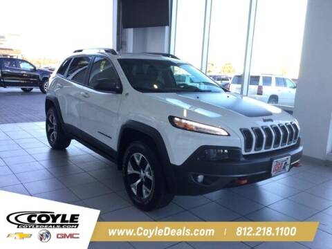 2016 Jeep Cherokee for sale at COYLE GM - COYLE NISSAN in Clarksville IN
