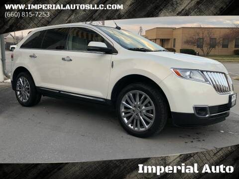 2012 Lincoln MKX for sale at Imperial Auto of Marshall in Marshall MO
