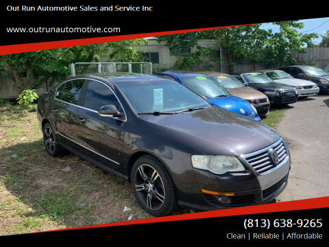 2010 Volkswagen Passat for sale at Out Run Automotive Sales and Service Inc in Tampa FL