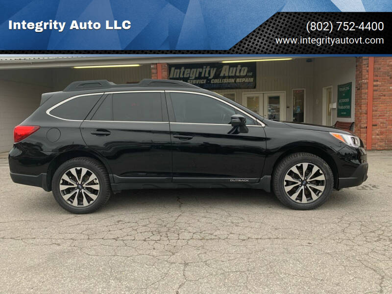 2017 Subaru Outback for sale at Integrity Auto LLC - Integrity Auto 2.0 in St. Albans VT