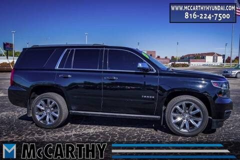2018 Chevrolet Tahoe for sale at Mr. KC Cars - McCarthy Hyundai in Blue Springs MO