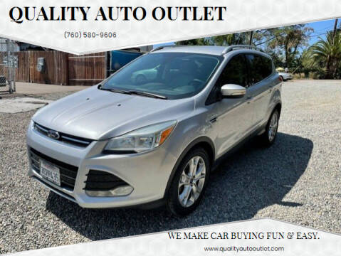 2014 Ford Escape for sale at Quality Auto Outlet in Vista CA
