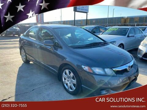 2010 Honda Civic for sale at Car Solutions Inc. in San Antonio TX