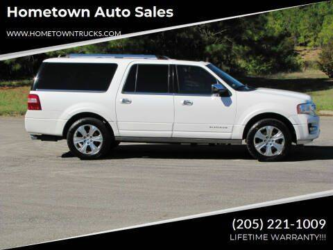 2015 Ford Expedition EL for sale at Hometown Auto Sales - SUVS in Jasper AL