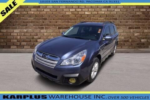 2014 Subaru Outback for sale at Karplus Warehouse in Pacoima CA